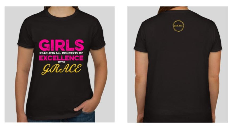 Buy a shirt! - We are selling shirts for $20 to fund the awesome curriculum, enrichment activities, educational trips, and events we have in store for program participants. Please show your support by purchasing a shirt to help us fully accomplish our mission & vision to positively impact and empower young women!