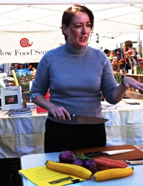 """Kathleen Flinn, author of """"the Sharper Your Knife the Less You Cry,"""" talking about how to choose a knife that's right for you"""
