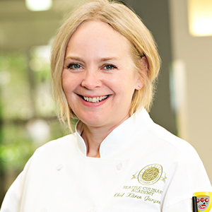 Kären Jurgensen, Chef Instructor at Seattle Culinary Academy; Slow Food Seattle Advisory Council Member; and Slow Food Chefs Alliance Leader.