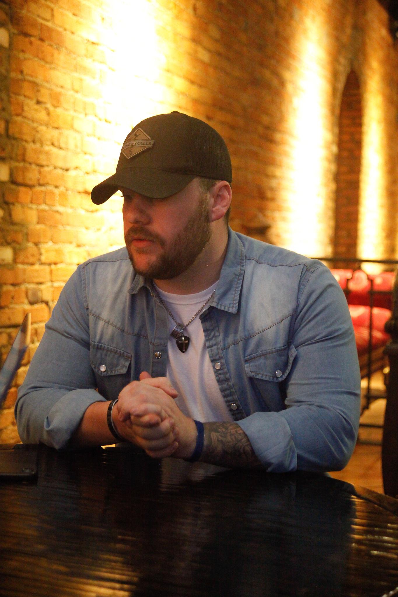 Brendan Roberts at Bar Figaro