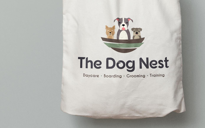 Golden-Antler-Design-Milwaukee-Web-Branding-Marketing-The-Dog-Nest-Logo-Design