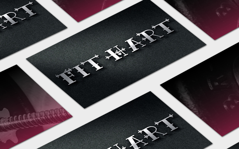 Golden-Antler-Design-Milwaukee-Web-Branding-Marketing-FitHart-Logo-Business-Cards