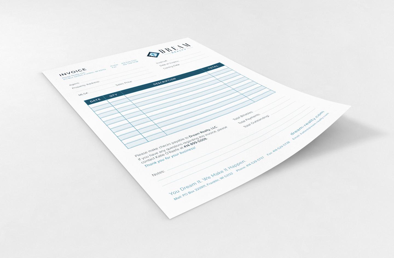Golden-Antler-Design-Milwaukee-Wisconsin-Branding-Print-Web-Serivces-Custom-Invoice-Printing-Dream-Realty