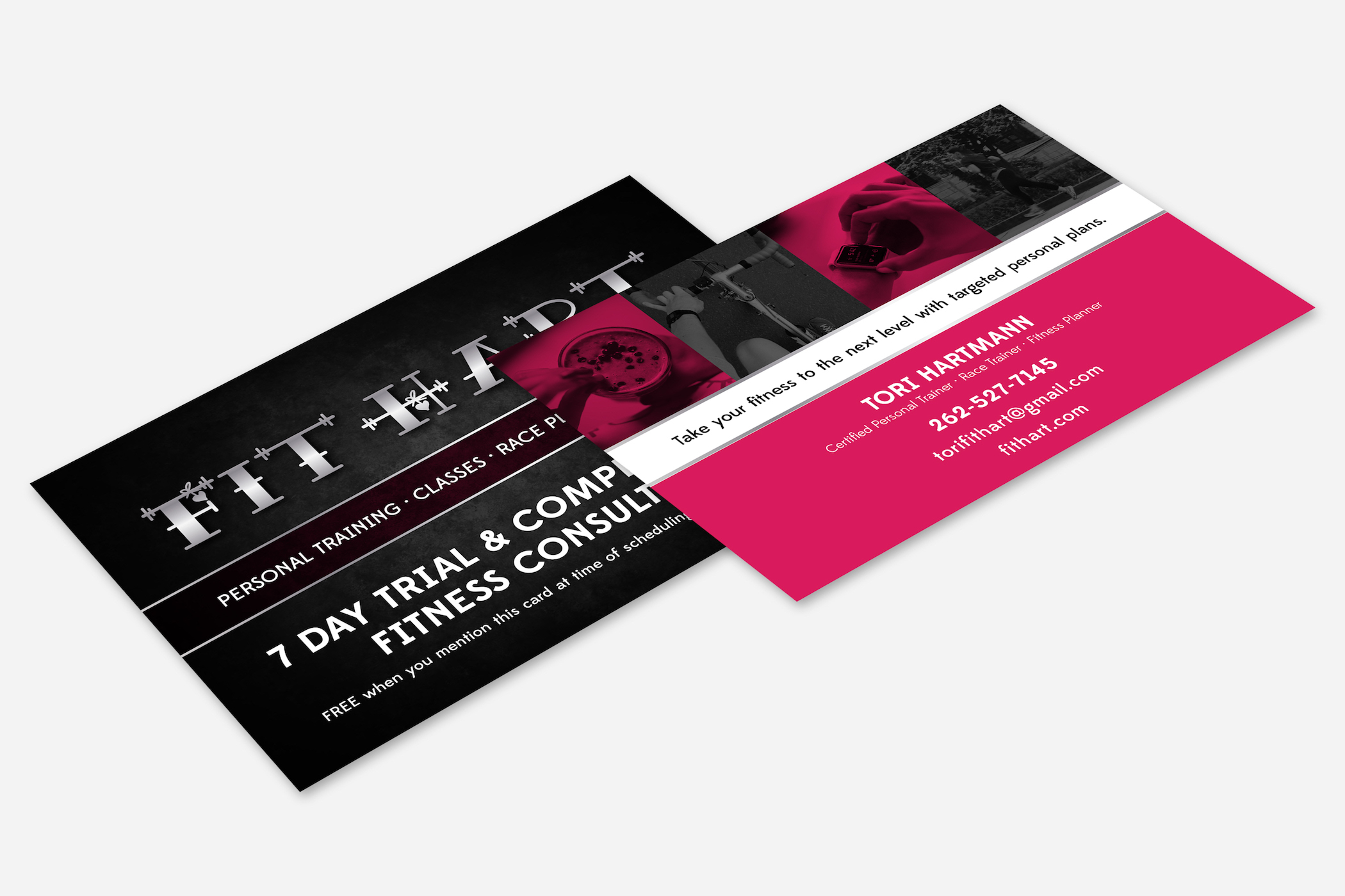 Golden-Antler-Graphic-Design-Milwaukee-Web-Branding-Marketing-Wisconsin-FitHart-Fitness-Postcard-Event-Promotion