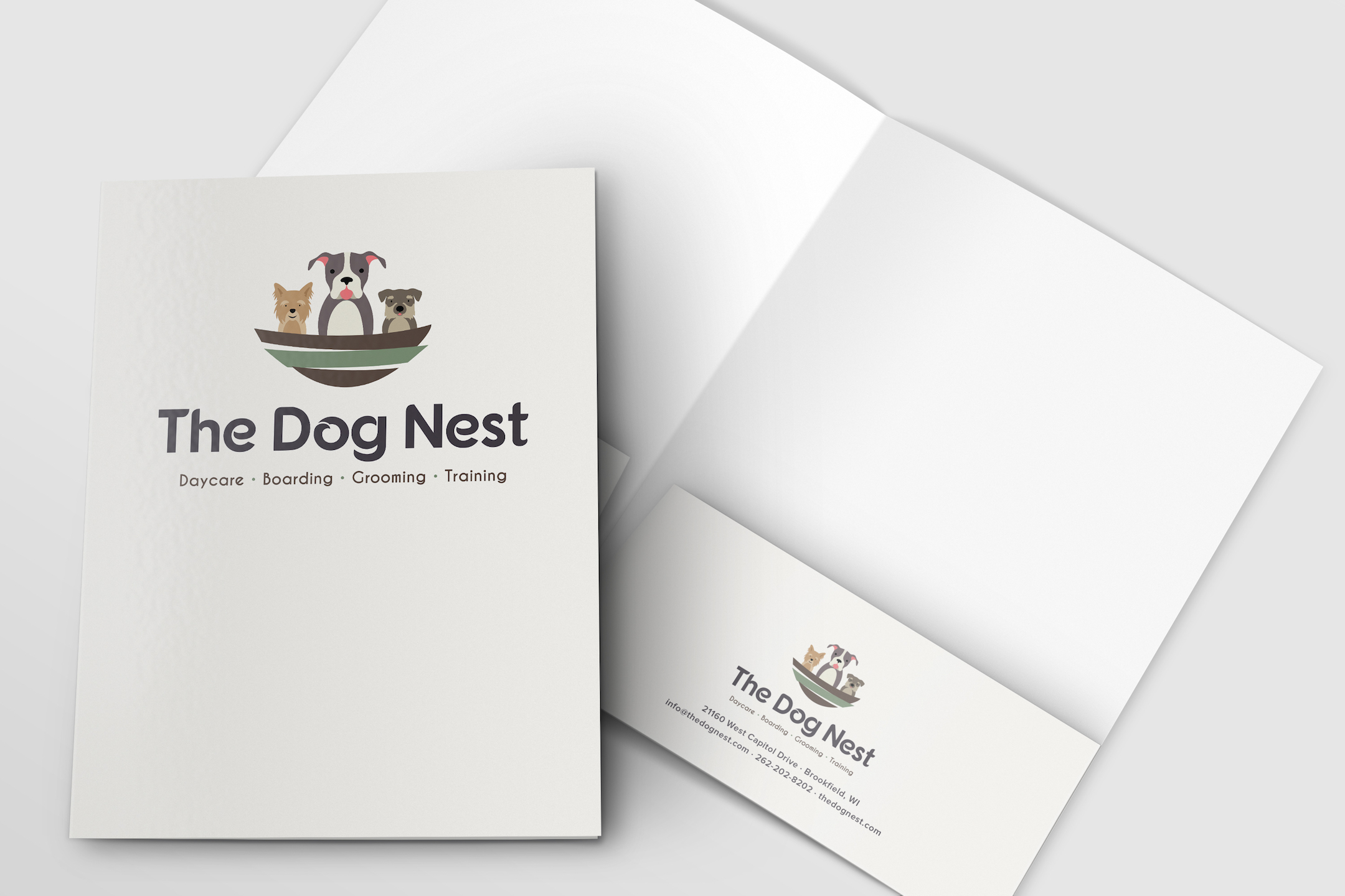Golden-Antler-Graphic-Design-Milwaukee-Web-Branding-Marketing-Wisconsin-The-Dog-Nest-Custom-Folders-Printing
