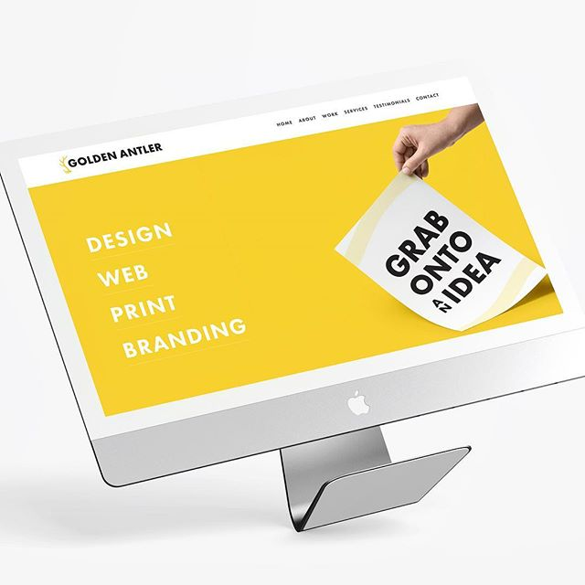 Very excited to announce the launch of my new website and rebrand! ✨ I'm coming up on starting my 4th year in business. It's been an adventure. This new site shows how far I've come as a designer and better showcases how Zi can help others build their brands. (Link in bio) ✨ - — - 👉 GoldenAntlerDesign.com - — - Owner: @rivereastwood - — - #designer #webdesign #branding #webdevelopment #graphicdesign #graphicdesigner #web #print #logo #fresh #businessowner #business #marketing #milwaukee #wisconsin #creativedirector #goldenantler