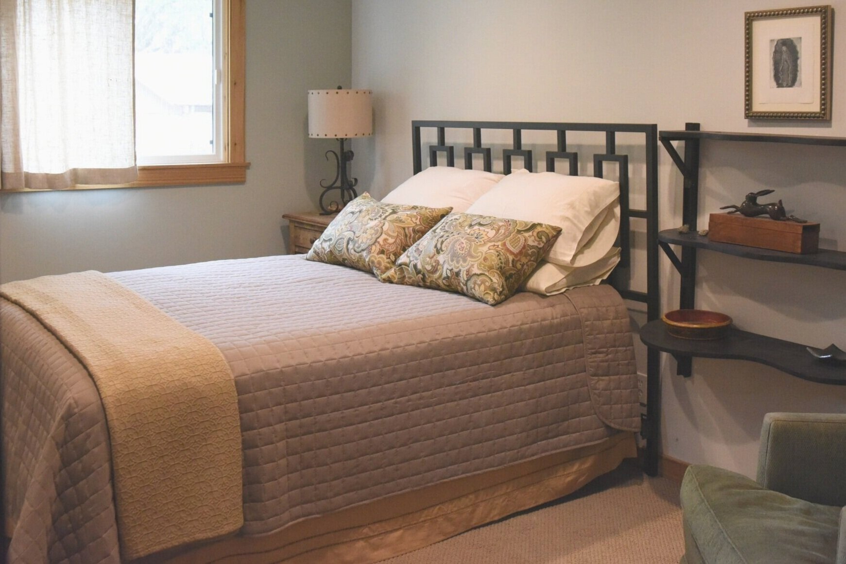 The Bodega House Beto Room is a wonderful escape offering luxury and privacy.