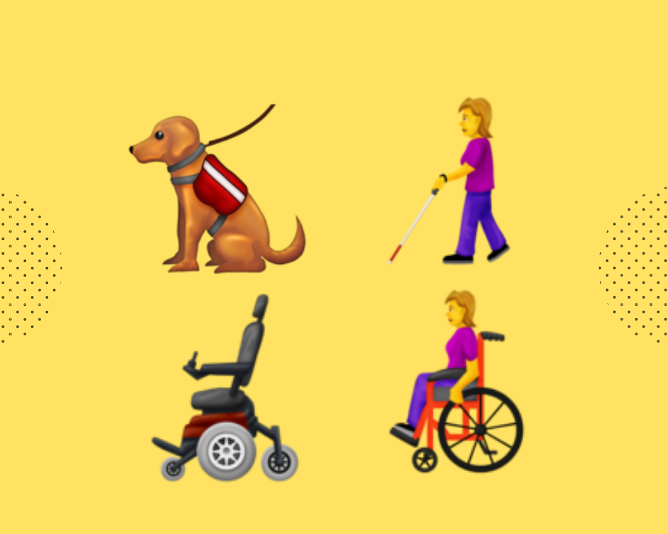 Emojis we 💗 - Here are a few examples of the NEW 2019 emojis being released that we love. Use them, include them and love them, too!