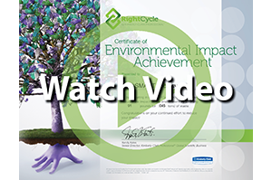 RightCycle Certificate of Environmental Impact Achievement - RightCycle is a large-scale recycling program for non-hazardous lab, cleanroom and industrial waste. Since its launch in 2011, the program has diverted more than 300 tons of waste from landfills, the company says. The items are sent to recyclers in the US and turned into nitrile powder and pellets that are used to create consumer products and durable goods.LEARN MORE