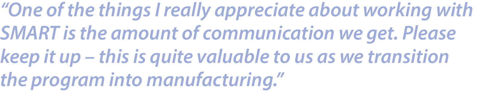 SMART Microsystems Manufacturing Quote.png