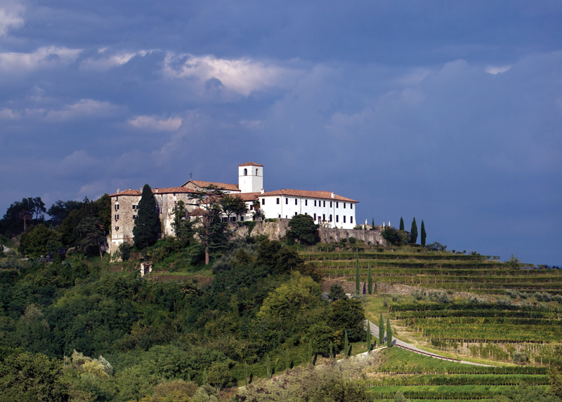 While the allure of European wine often centers on imagery of vineyards and estates, such as seen here at Livio Felluga in Friuli-Venezia Giulia, the ascent of New World wines ushered in the Era of the Grape. In short, Americans (still) commonly think about wines by grape first. So when selling wines of unusual origin or pedigree, it makes sense to key on grapes first, then place, technique or special aspect.