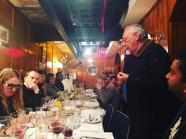 Luis Pato educating us on Baga. Introducing the 2015 single vineyards. @luispatowines #baga #bagagrape #luispatowines