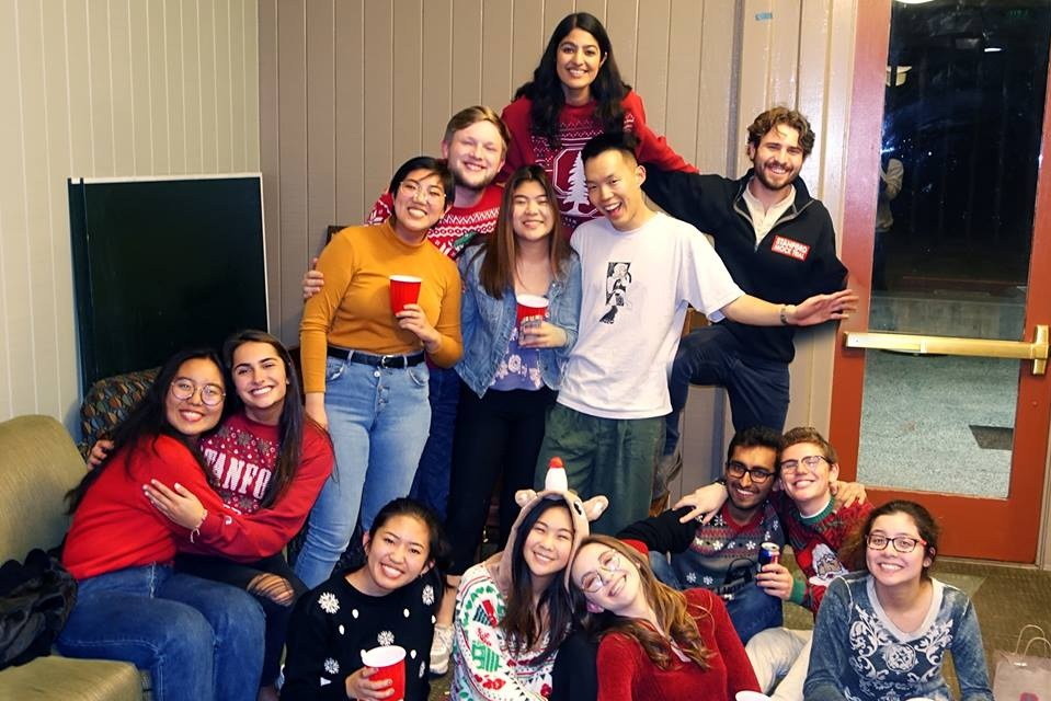 HOLIDAY PARTY - Our stunning social chair plans a holiday party annually for fun and games (and presents). There's a gingerbread house building contest, Mariah Carey, and non-mandatory dancing—what more could you ask for?