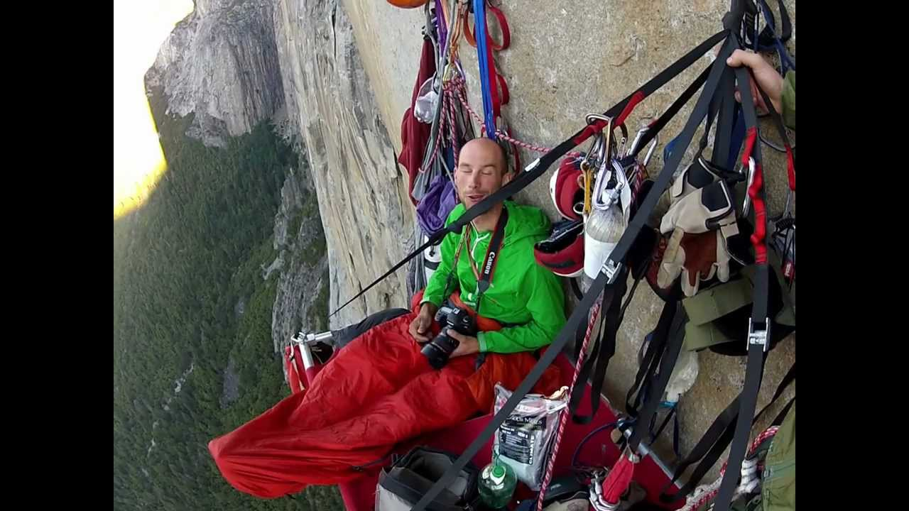 image from Morning in the Portaledge - https://www.youtube.com/watch?v=GnxpesLE1Q0