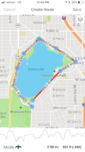 Green Lake Gaia GPS route example.PNG