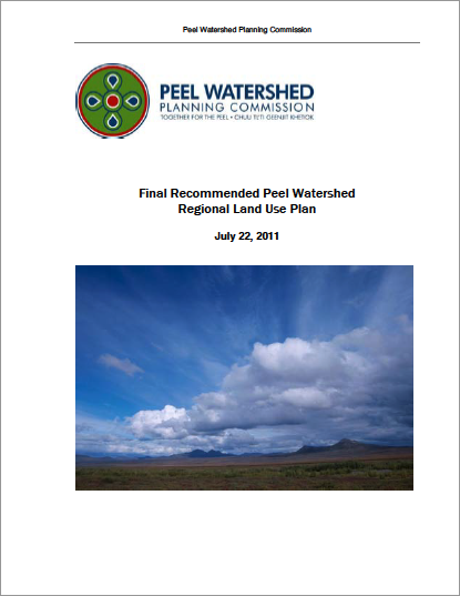 Download - 13.3 MB   Final Recommended Peel Watershed Regional Land Use Plan.  July 22, 2011