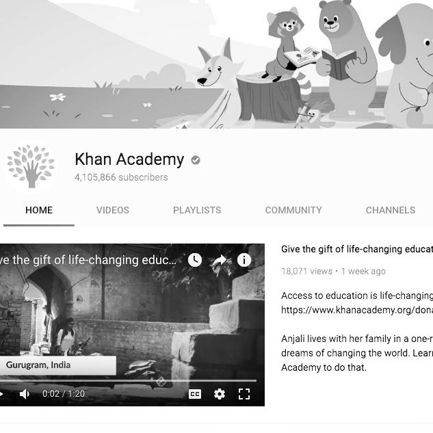 Khan academy videos