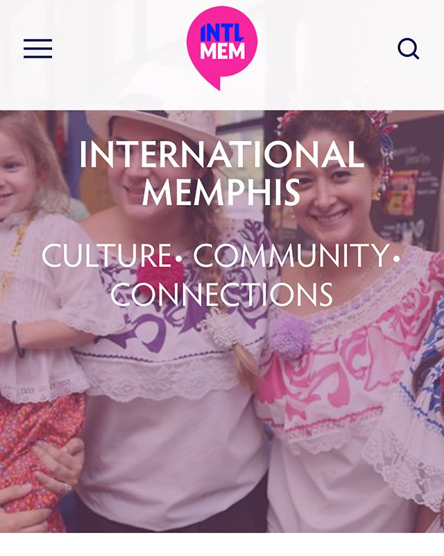 Our website is live! Be sure to check it out and bookmark it to keep up with everything international in the city! —link in bio— #internationalmemphis #intlmem #choose901 #bringyoursoul #ilovememphis