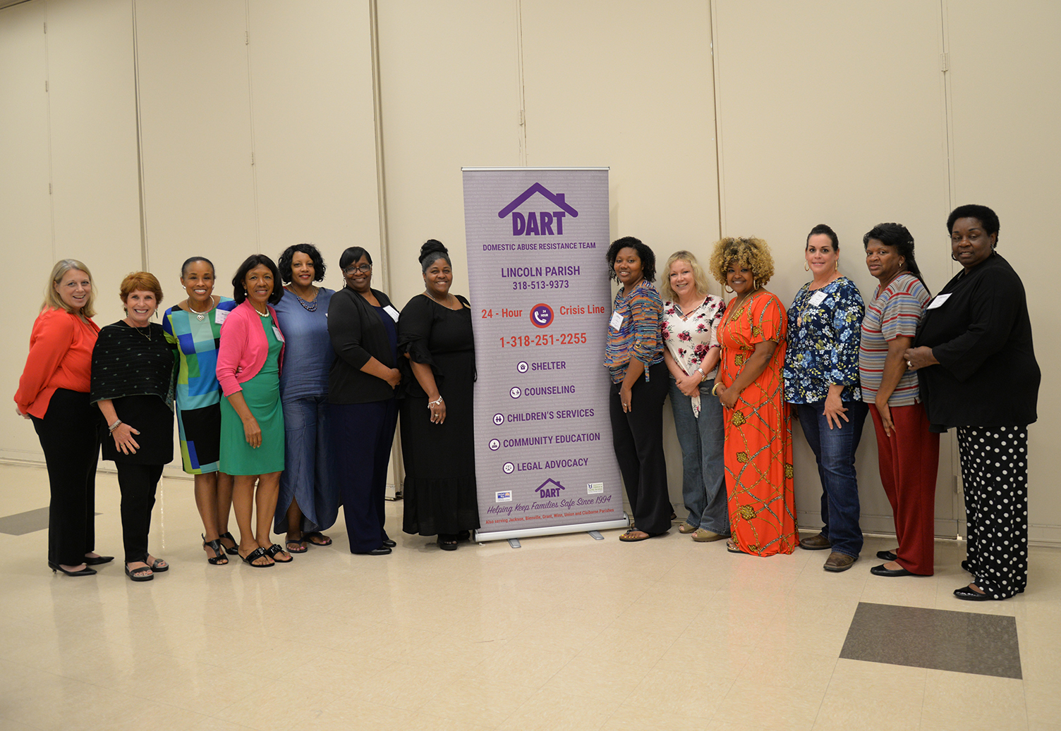 D.A.R.T.'s staff participates in the annual   Collaboration is the Key   training event.