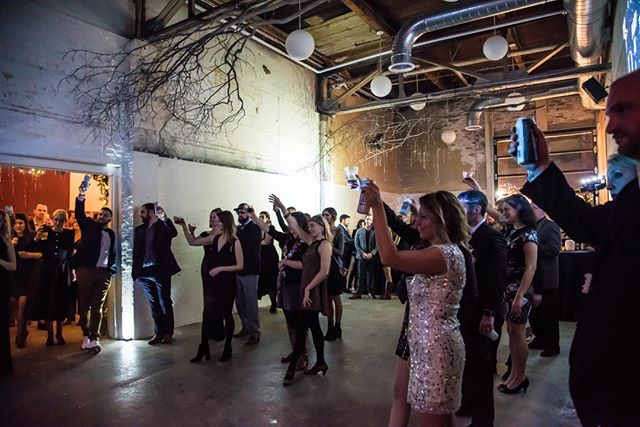 Cheers to holiday events at The Public Works! #tpw #thepublicworks #partyhere #maineevents #Eventspace #portlandme #portlandmaine #maine #events #weddingvenue #holiday #holidayparty #celebrate 📸 @dostiephoto