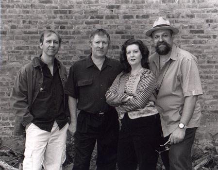 Fourth World: Woodstock, NY left to right: Drew Gress, James Emery, Judi Silvano, Joe Lovano photo by William Gamble