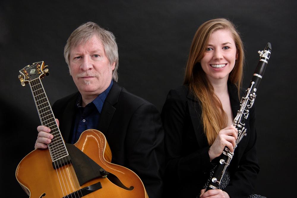 James Emery, guitar, Hannah Emery, clarinet   © 2014 Federico Moretto