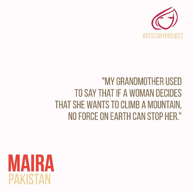Maira (@maira_azam), shares her inspiring story and explains from her POV, what it means to be a girl or a woman today.  Read her story + Share yours too at girltable.com/gtstoryproject  #GirlTable #GirlPower #GTStoryProject #LifeAsAWoman