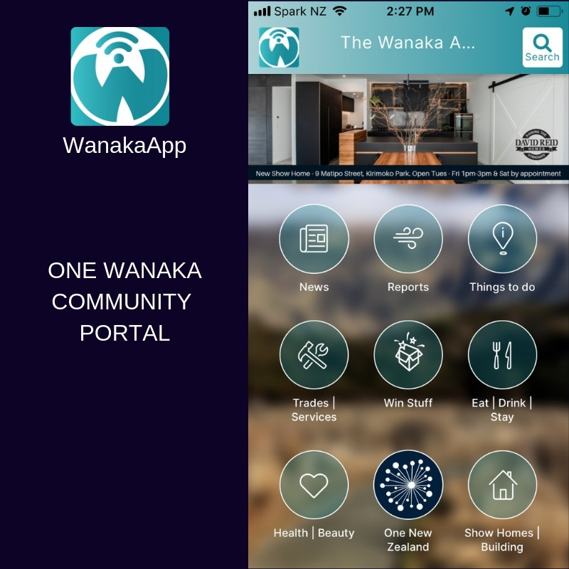 In Wanaka? Connect with the community. The WanakaApp has a connects you with groups working on the SDG, the 52 Week Challenge as well as news and events around the region.