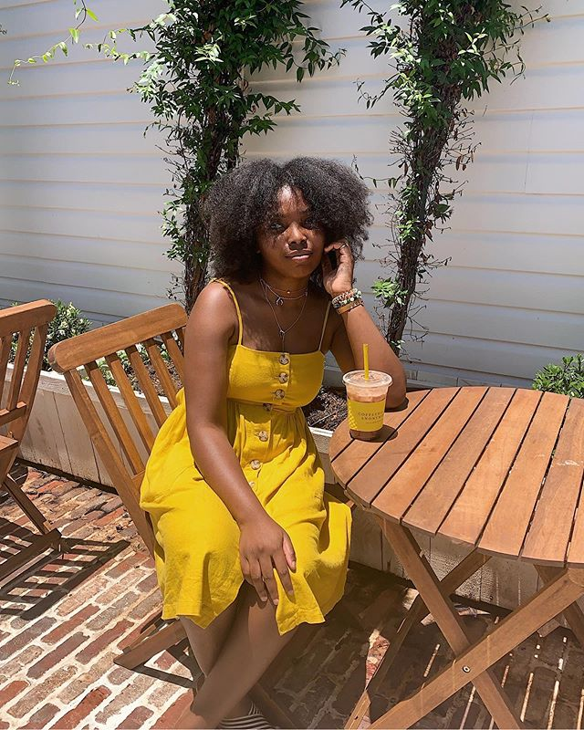 Just because I was matching with my drink 💛