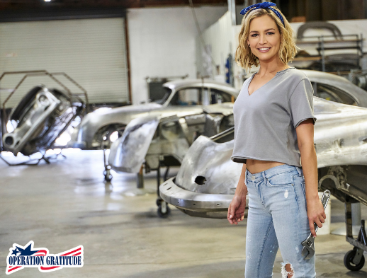 Give Back to Veterans! - I've partnered with Operation Gratitude, a non-profit organization who delivers care packages to veterans, deployed troops, first responders and military families. When you purchase this autographed poster, 100% of proceeds will be donated to Operation Gratitude.