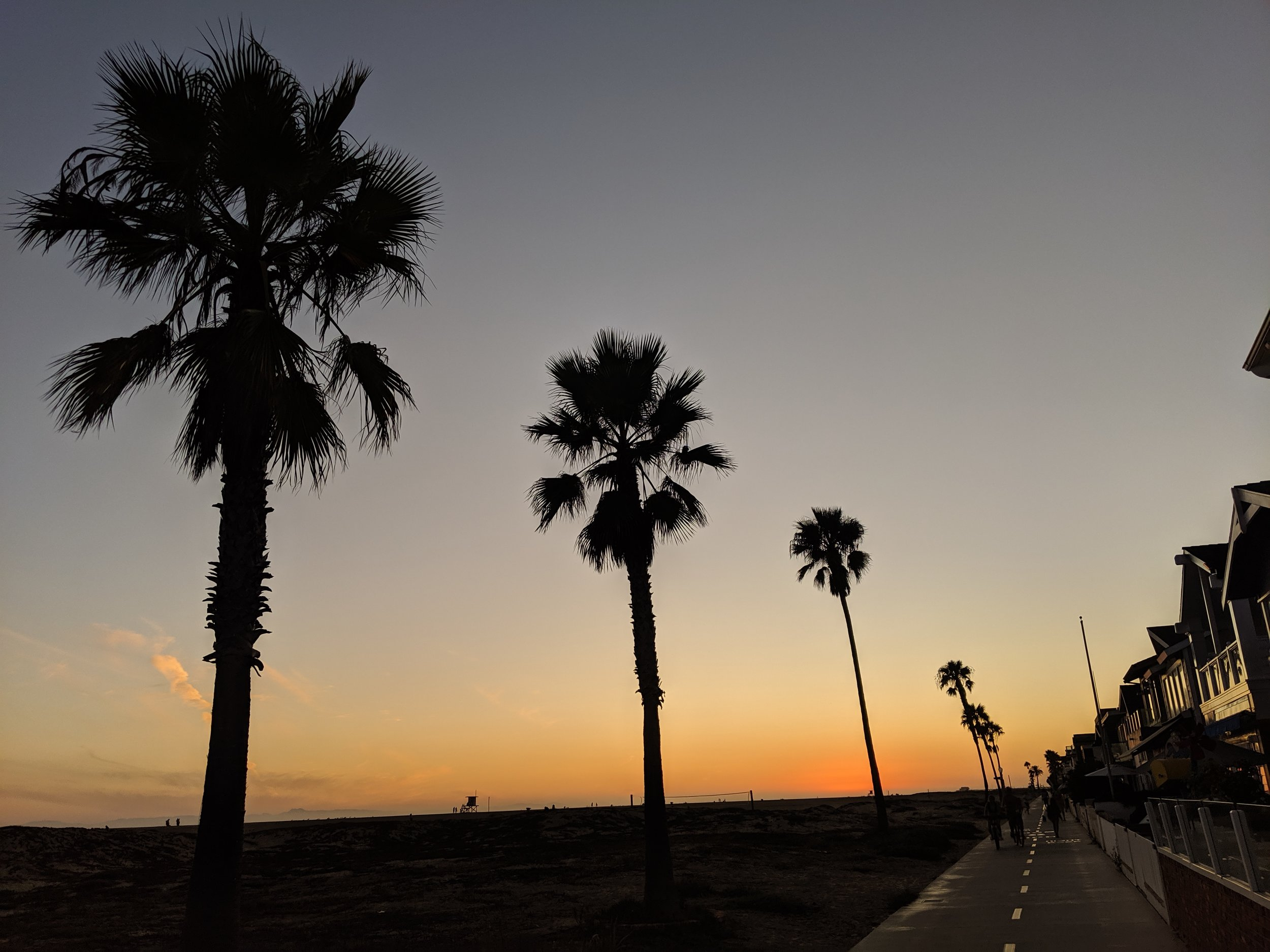 Balboa Penninsula, Newport Beach, Ca