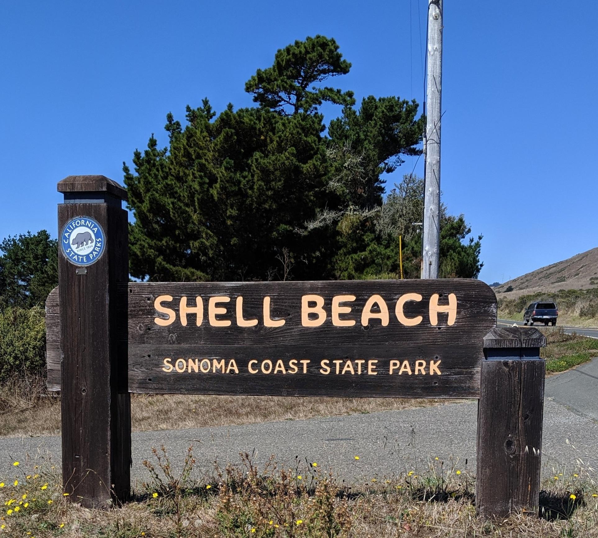 Shell Beach, Sonoma Coast State Park
