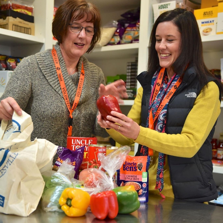 HICCI-storeroom-volunteers