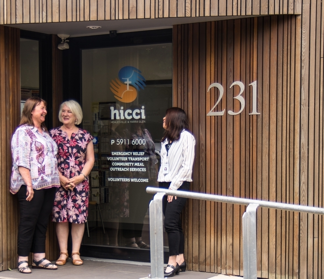 About Us - HICCI is here to help.We provide caring and empowering support to the communities of Healesville, Yarra Glen and the surrounding areas.Learn More.