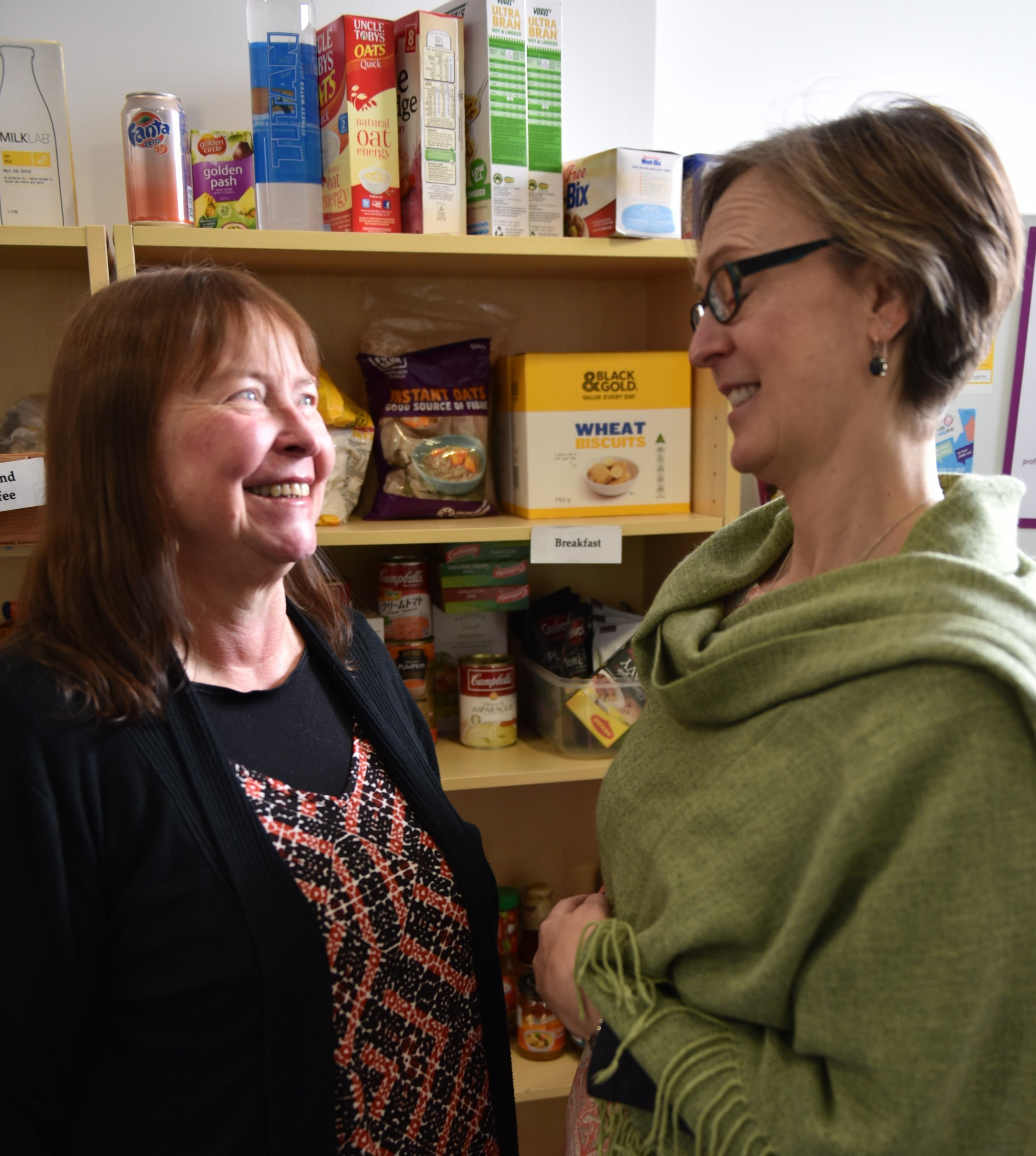 Sheree-and-volunteer-pantry