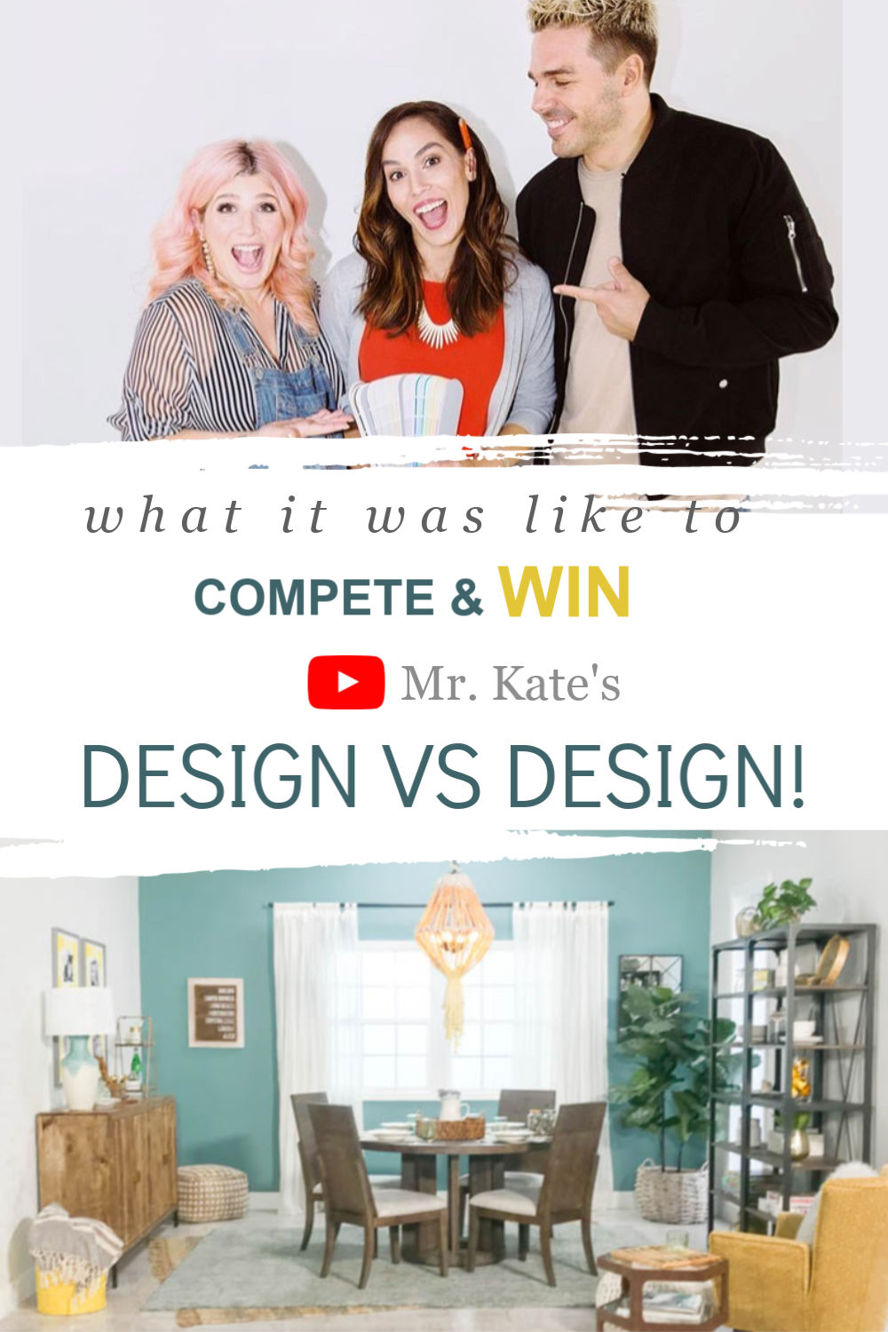 Title image What it was like to compete on mr kate's design vs design