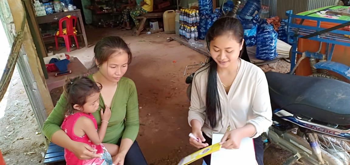 Ta Eak Village Based Preschool Teacher Toch Phally. អ្នកគ្រូ តូច ផល្លី គ្រូមតេ្តយ្យសិក្សាសហគមន៌ភូមិ តាអៀក