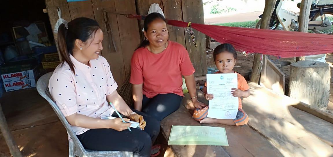 Ta Mom Village Based Preschool Teacher Korng Channy. អ្នកគ្រូ គង ចានិនី គ្រូមតេ្តយ្យសិក្សាសហគមន៌ភូមិ តាមុំ