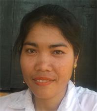 Noun Saren , Teacher, Work Station: Demchamreak Village, Sdechkong Khanglech Commune, Banteay Meas District, Kampot Province