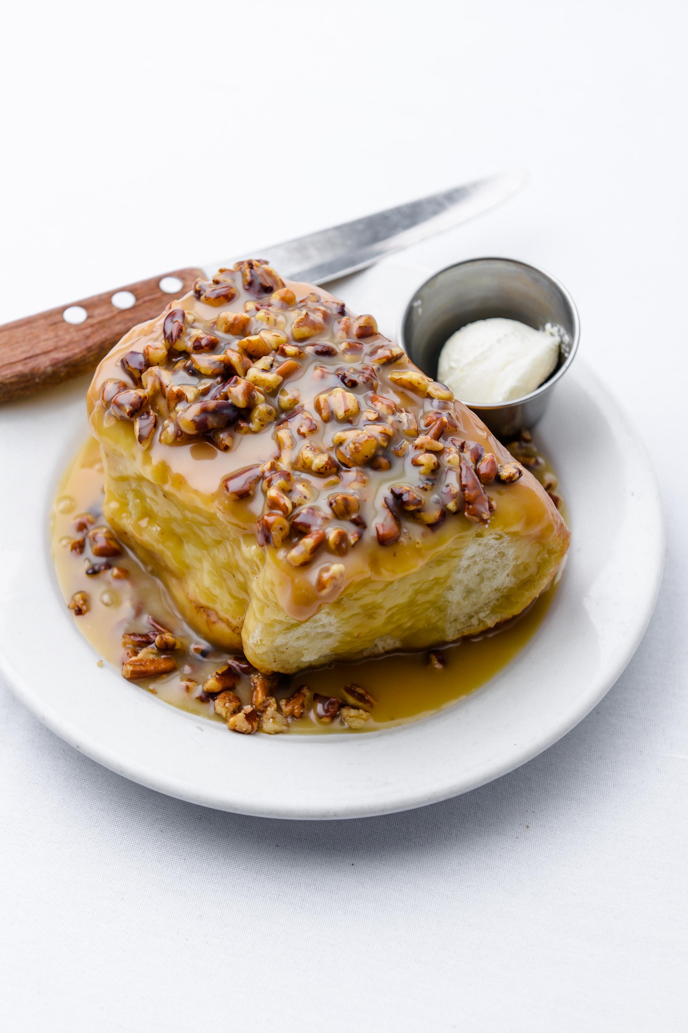 Caramel-Pecan Roll