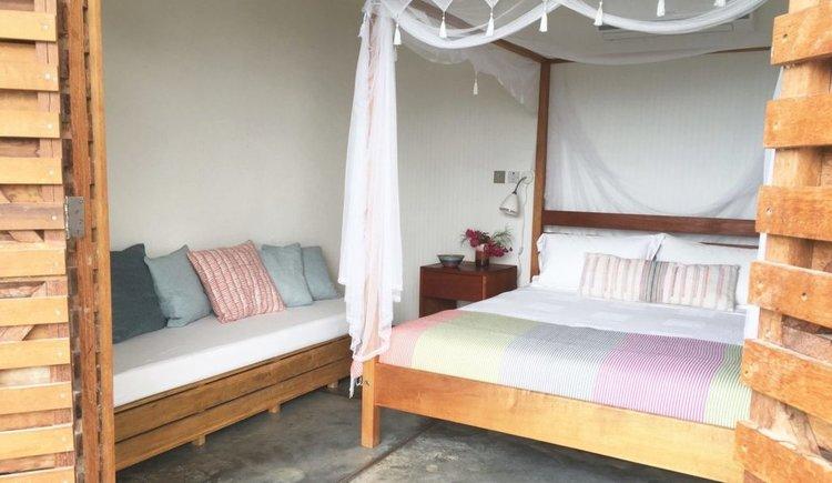Queen Bedroom, Garden View