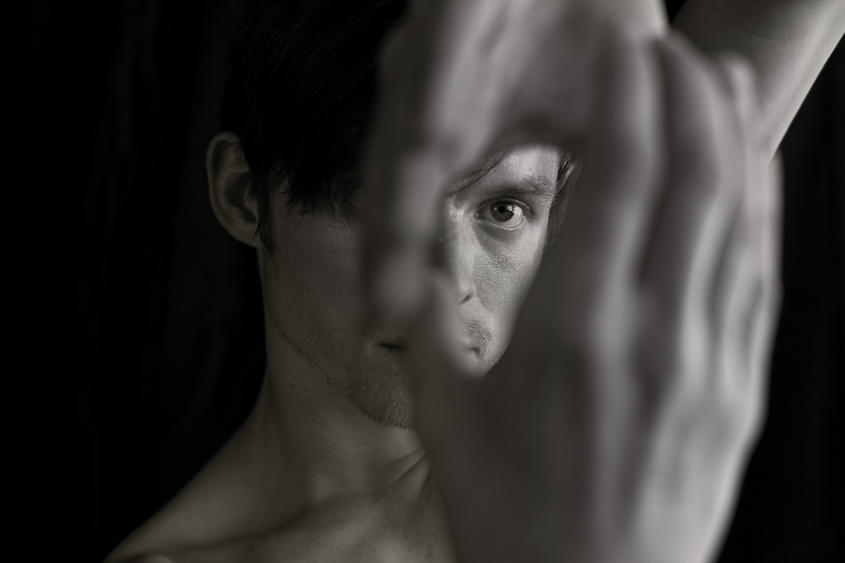 Post:Ballet dancer and creative director Christian Squires, photo by Daniel O'Neill