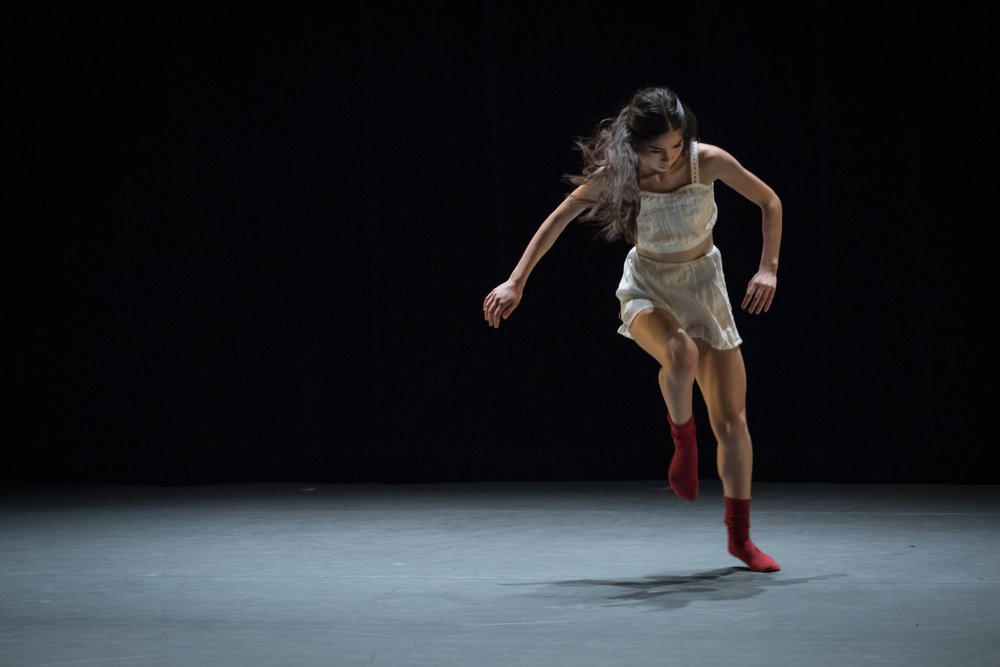Berkeley Ballet Theater Studio Company dancer in Laura O'Malley's  Inscape , photo by Natalia Perez