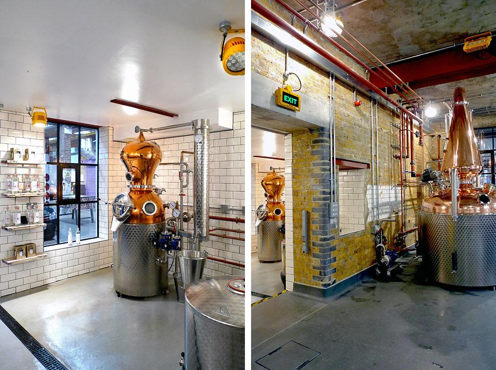 Meanwhile design distillery