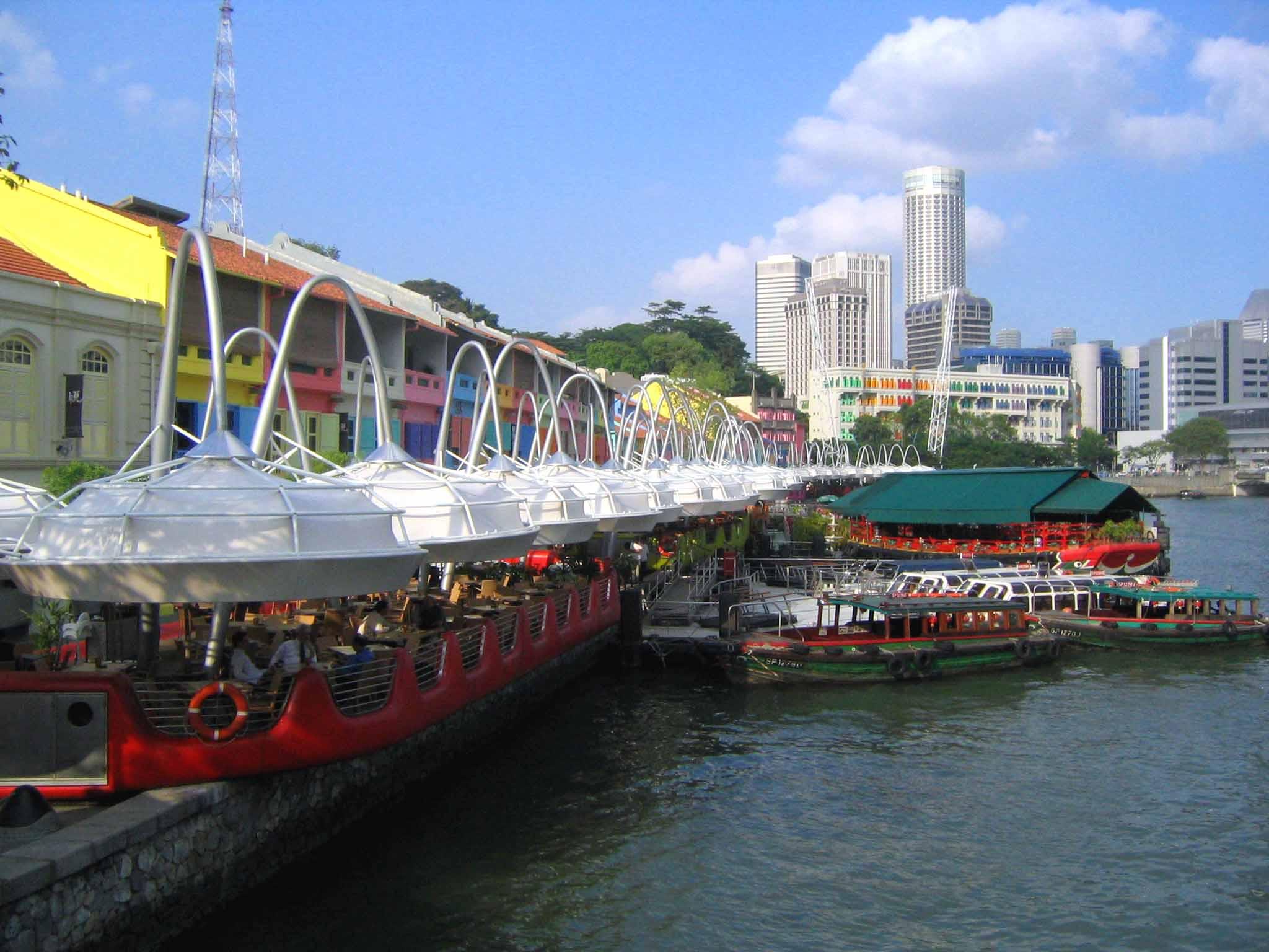 Clarke Quay Singapore Waterfront