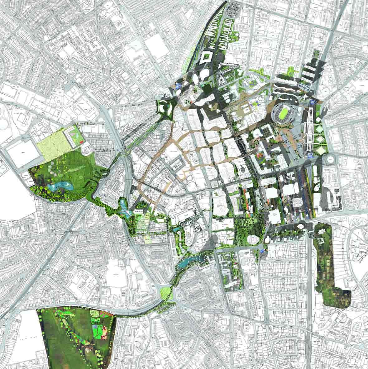Croydon, UK masterplan