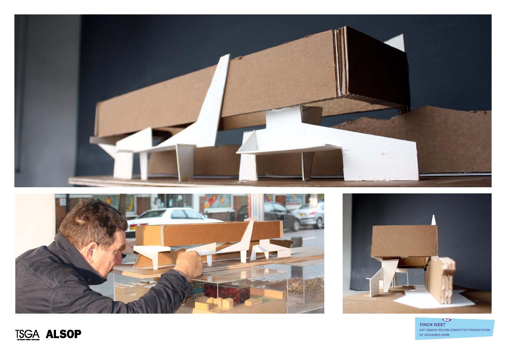 Finch West Station Architectural Model