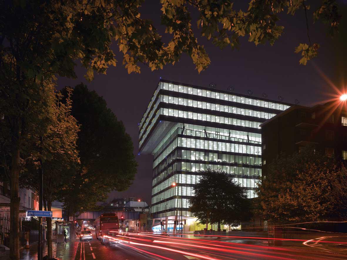 Palestra Office Design London UK