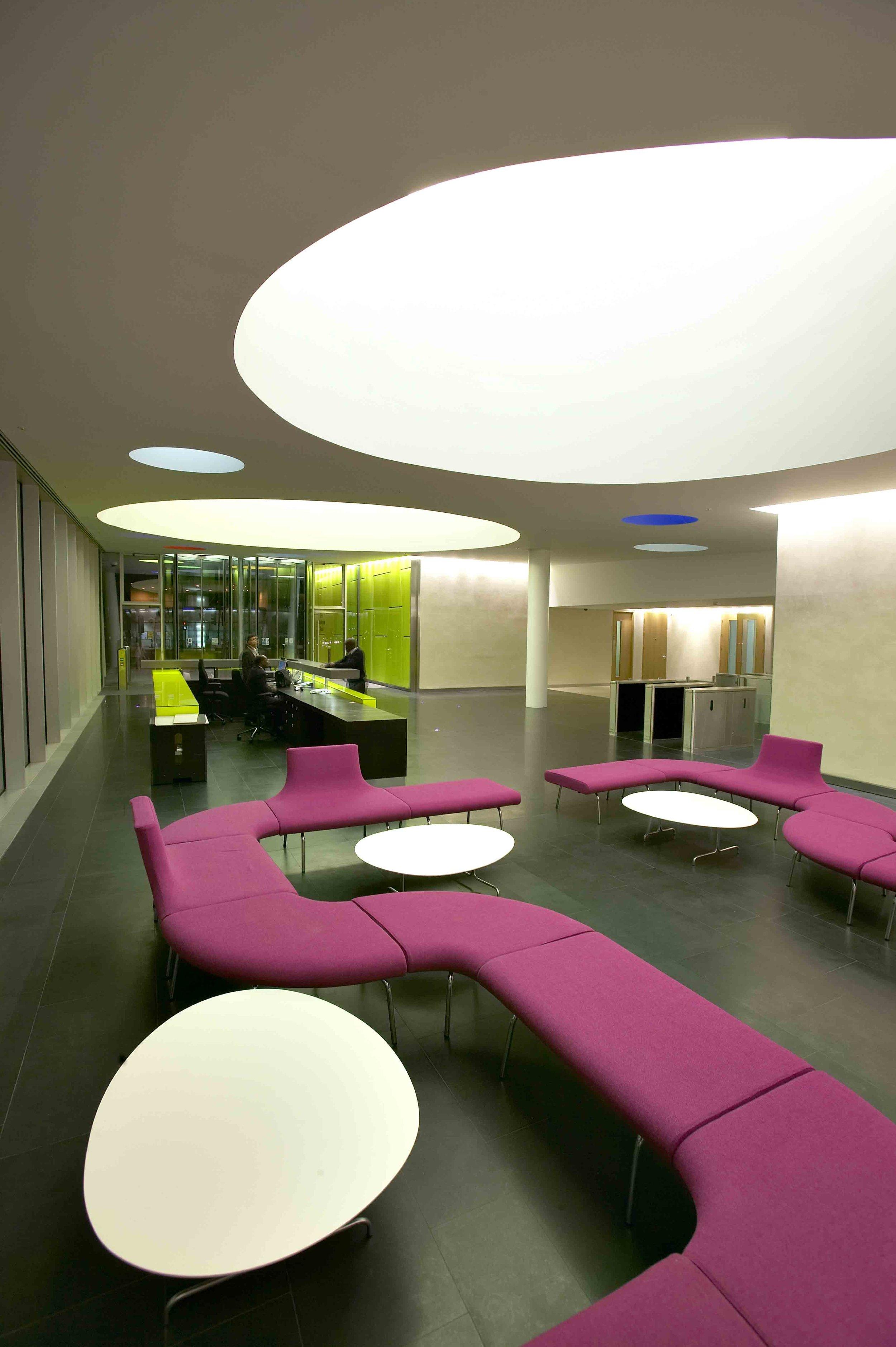 Palestra Office Interior Design London UK