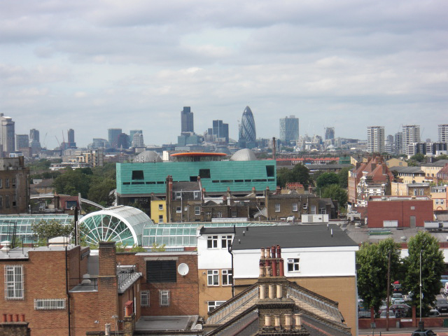 Peckham Library Architecture London Skyline